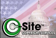 Copyright ALL of your web site's content NOW with c-Site!